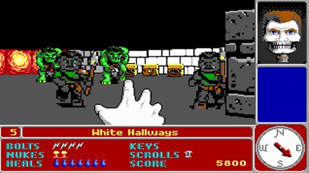 Catacomb 3D, el ancestro de Wolfenstein