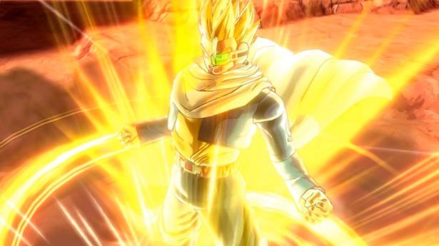 Podrás transformarte en super saiyan durante el combate