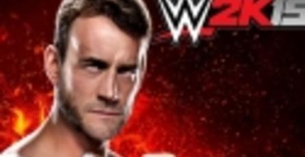 CM Punk ha sido confirmado para el elenco de WWE 2K15