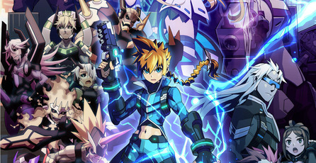 Mighty Gunvolt, el crossover gratuito entre Azure Strike Gunvolt y Mighty No. 9