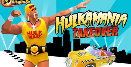 Hulk Hogan se apodera por este mes de <em>Crazy Taxi: City Rush</em>