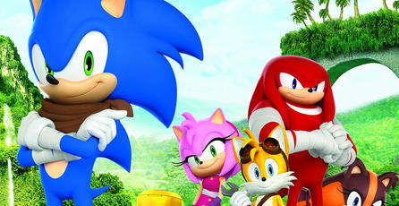 La caricatura de <em>Sonic Boom</em> debutará el 8 de noviembre