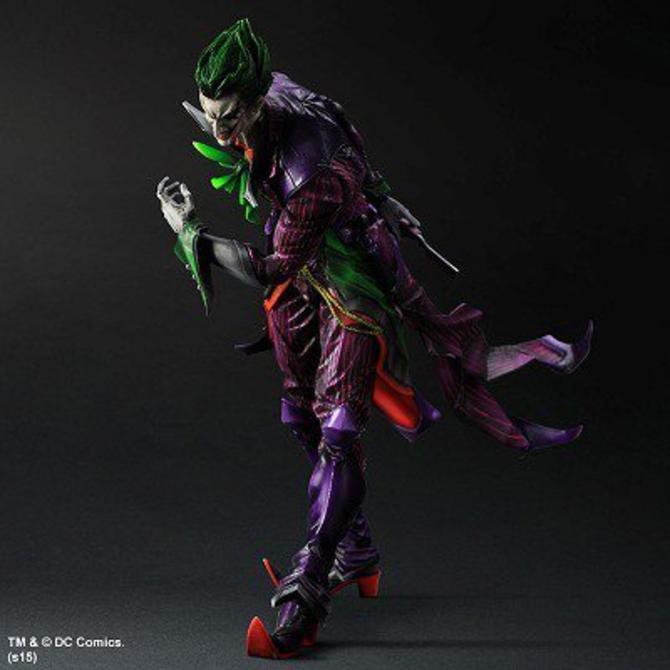 Joker y Harley Quinn vistos por Tetsuya Nomura