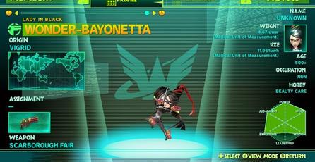 Agregan códigos para desbloquear a Bayonetta en <em>The Wonderful 101</em>