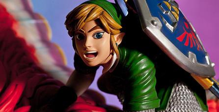 Revelan impresionante figura de Link montado en un Loftwing