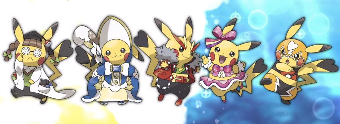 Cosplay Pikachu será una de las nuevas adiciones en los remakes