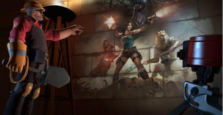 <em>Team Fortress 2</em> lanza concurso de objetos basados en <em>Tomb Raider</em>