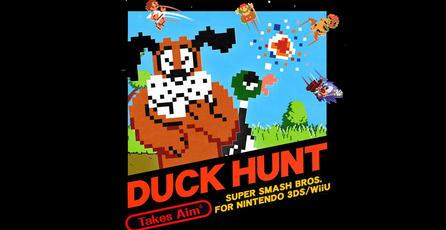 Presentan el trailer de Duck Hunt para <em>Super Smash Bros.</em>