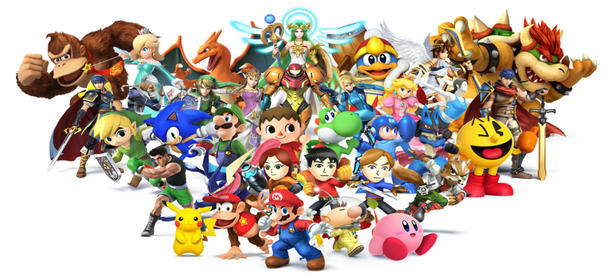 Publican el comercial de <em>Super Smash Bros. for Wii U</em>