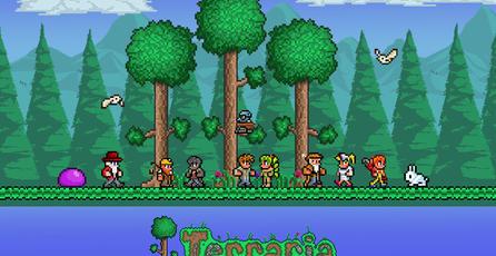 Lanzan hoy <em>Terraria</em> para Xbox One