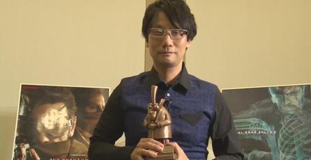 Hideo Kojima recibe premio <em>Bradford City of Film Cinematography</em>