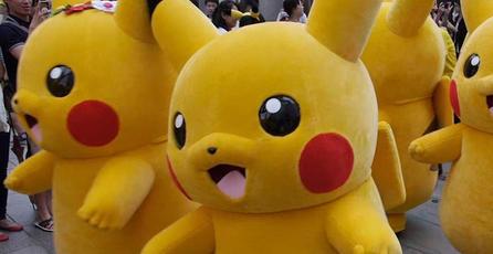Pikachu provoca peligrosa aglomeración humana en Corea