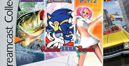 Humble SEGA Bundle regresa con juegos de Dreamcast, Sonic Transformed y más