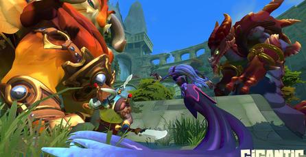 En <em>Gigantic</em> tu Ancient es un monstruo gigante que combate a tu lado