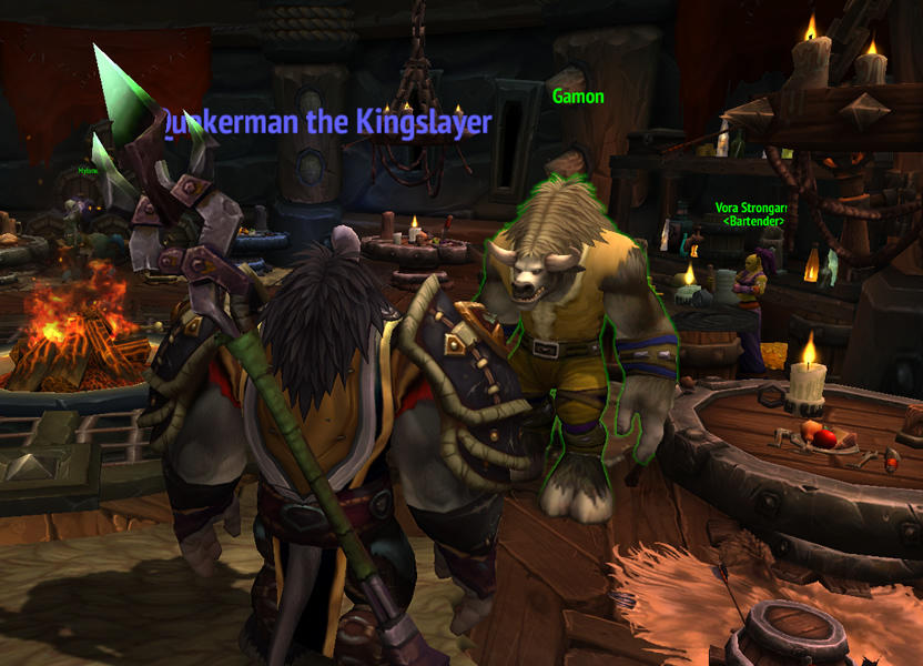 En la taberna de tu fortaleza podrás recibirás visitas de personajes icónicos que pedirán tu ayuda