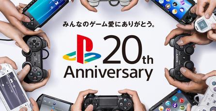 PlayStation encuesta a 10,000 usuarios en Japón para conmemorar sus 20 años