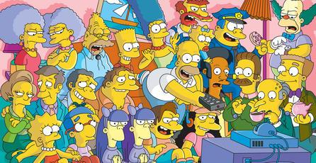 ¡Felices 25 años, familia Simpson!
