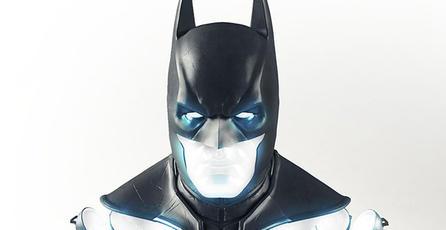 Revelan réplica de busto de <em>Batman: Arkham Origins</em>