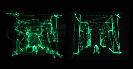 Programador juega <em>Quake</em> en un osciloscopio