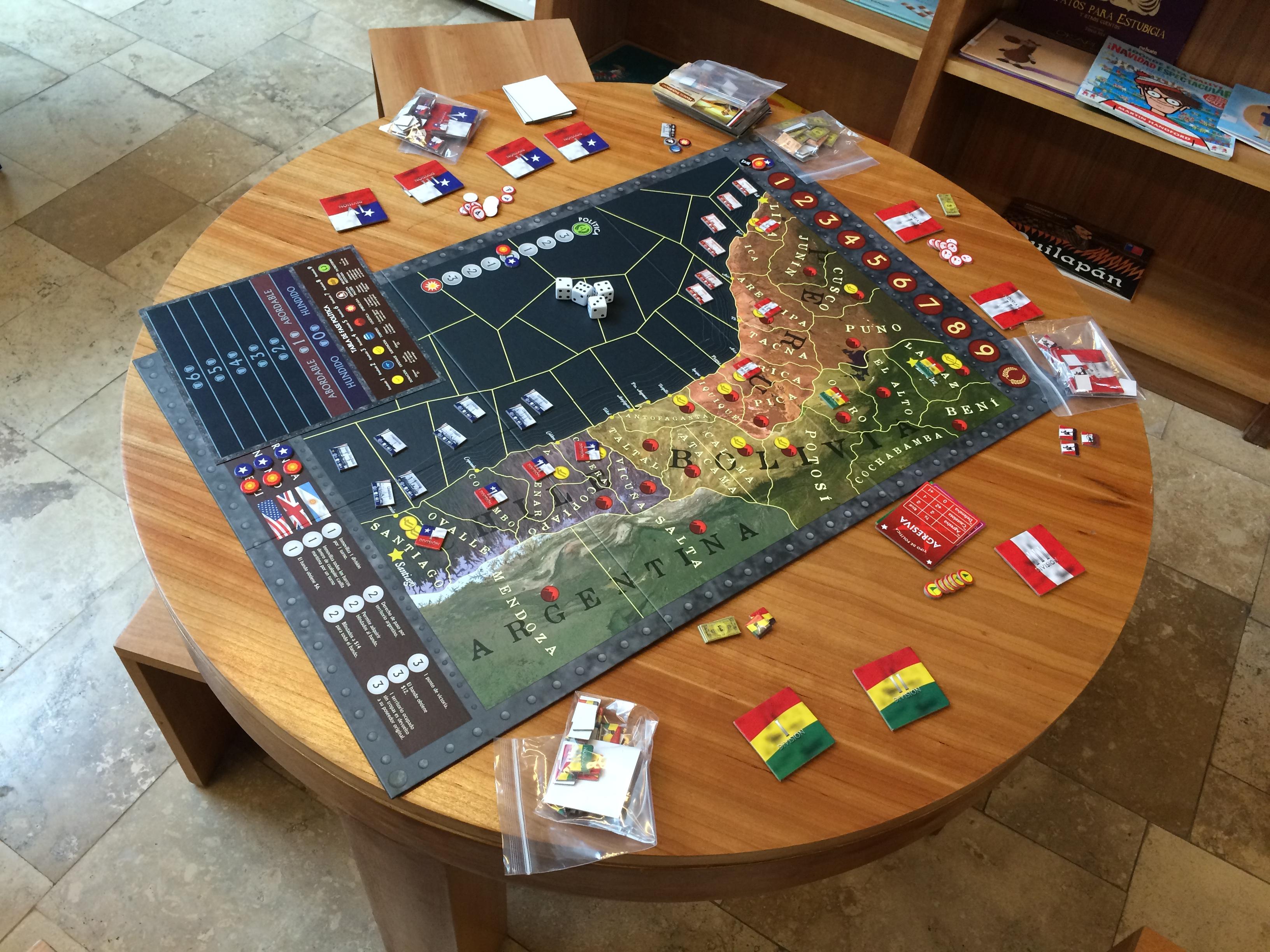Guerra En El Pacifico La Nueva Joya De Devir Chile Tarreo