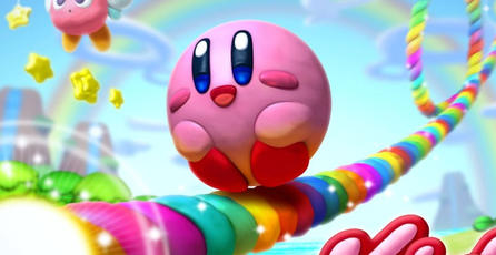 Nintendo muestra nuevo gameplay de <em>Kirby and the Rainbow Curse</em>
