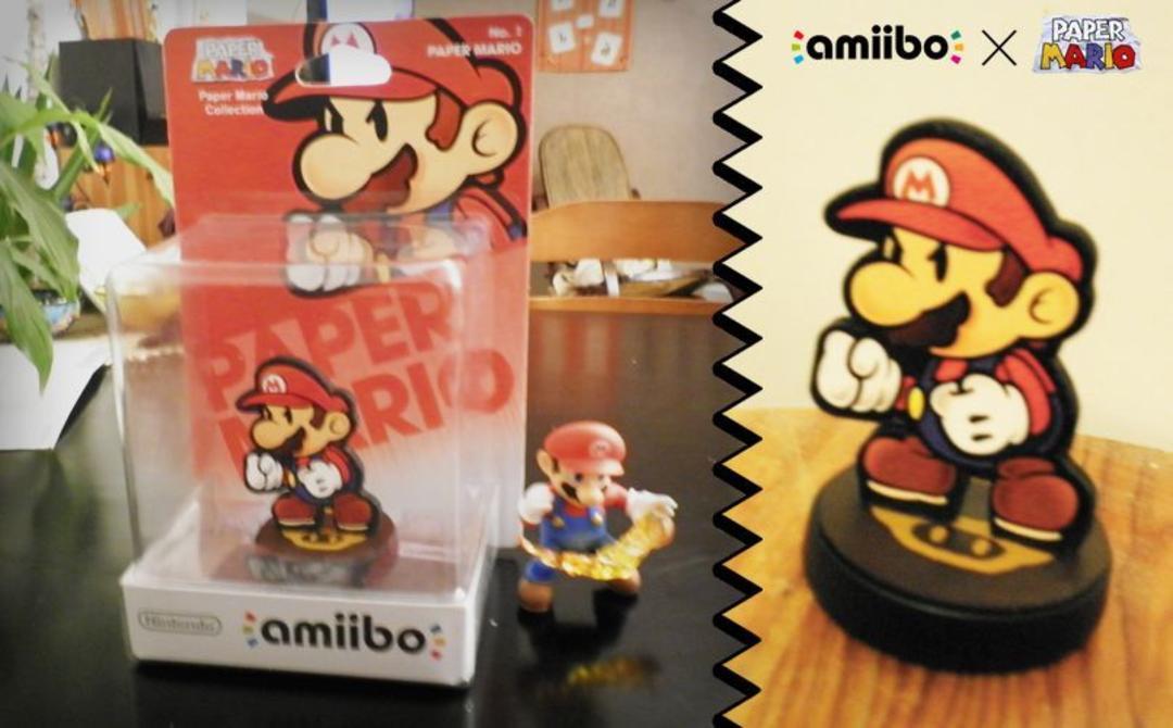 amiibos de <em>Paper Mario</em>