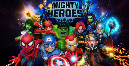 Anuncian <em>Marvel Mighty Heroes</em> para iOS y Android