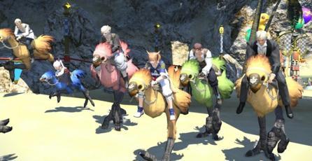 Square Enix detalla los minijuegos del Manderville Gold Saucer