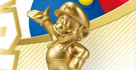 Nintendo confirma amiibo dorado de Mario