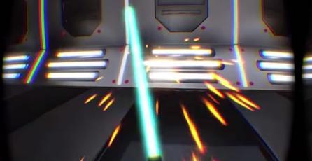 Así luce un sable láser en realidad virtual