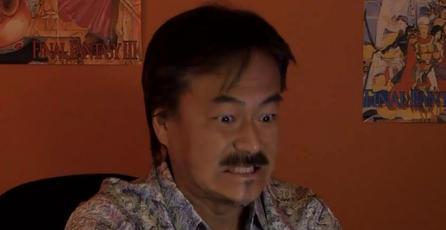 Hironobu Sakaguchi colabora con Mega64 en parodia