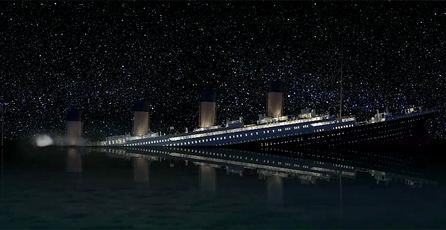 Ve aquí los avances de la recreación del hundimiento del Titanic