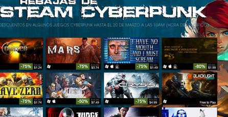 Aprovecha los descuentos en juegos cyberpunk en Steam