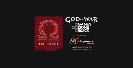 Sony anuncia speedruns de <em>God of War</em> en Games Done Quick