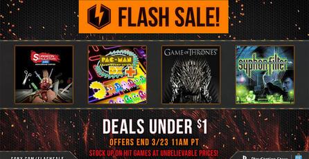 Arrancan ofertas Flash en PSN con juegos a menos de un dólar