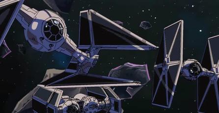 Fanático de Star Wars crea un asombroso corto animado relacionado al título Tie Fighter