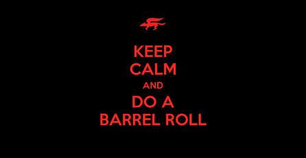 ¿Es posible hacer un barrel roll?