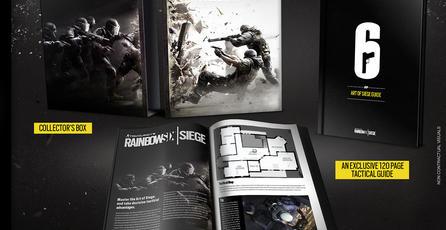 Revelan edición de colección de <em>Rainbow Six Siege</em> exclusiva para Europa