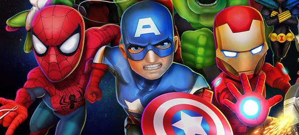 Debuta <em>Marvel Mighty Heroes</em> en iOS y Android