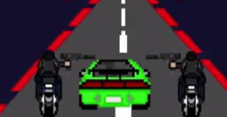 Así luciría <em>The Fast and the Furious </em>si fuera un juego de 8-Bits