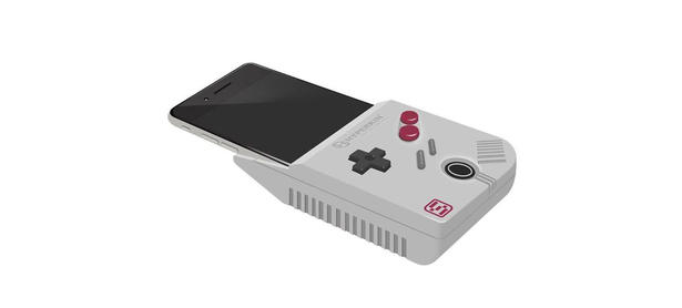 Transforma tu smartphone en un Game Boy con este dispositivo