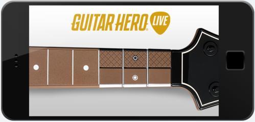 El sitio oficial de <em>Guitar Hero Live</em> menciona que no requerirás un periférico y podrás usar tu celular