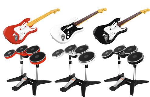 Rock Band 4 mantendrá el diseño original de sus instrumentos, pero agregará nuevos colores