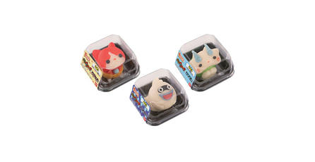 Mira estas adorables gomitas de <em>Youkai Watch</em>