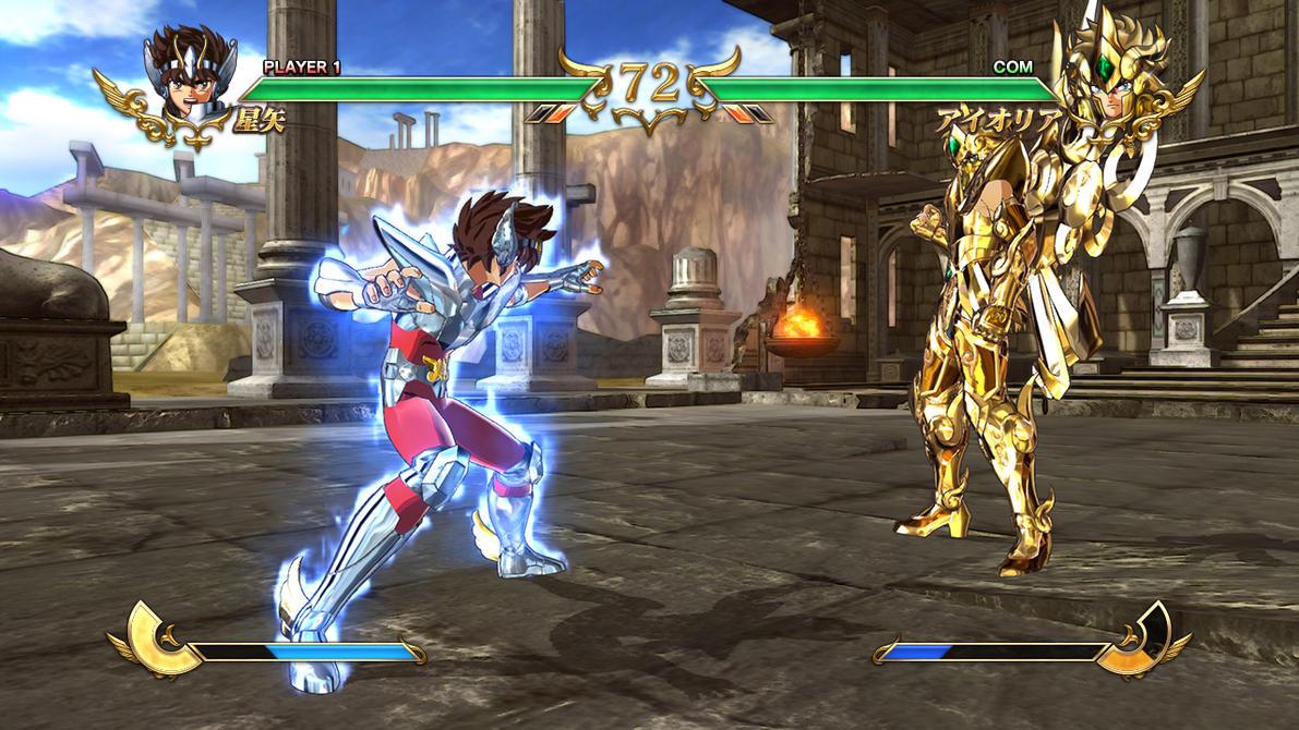 Resultado de imagen para SAINT SEIYA SOLDIERS SOULS Gameplay