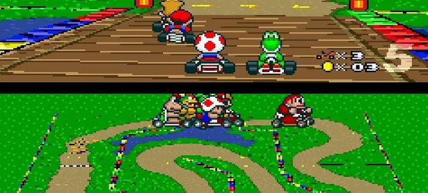 Así luciría <em>Mario Kart 8</em> para Super Nintendo