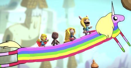 <em>Adventure Time</em> arriba a <em>LittleBigPlanet 3</em>