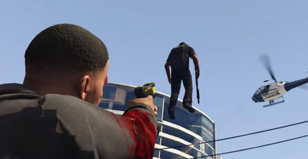 Admira la pistola gravitacional para <em>GTA V</em>