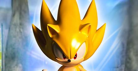 First 4 Figures presenta figura de Sonic dorado
