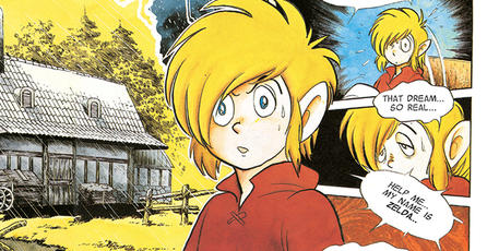 Ya puedes conseguir el manga de <em>The Legend of Zelda</em>